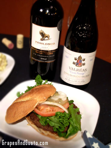 Get out of auto-pilot mode and reach for a non-Cabernet with your burger.