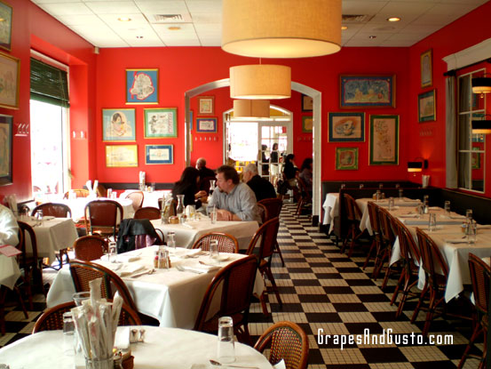 Centro offers a fun, colorful atmosphere that can be dressed up or down.