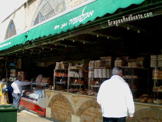 Abulafia, the bakery that has become an institution in the Tel Aviv/Jaffa (Yafo) area.