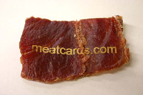 Photo credit: meatcards.com